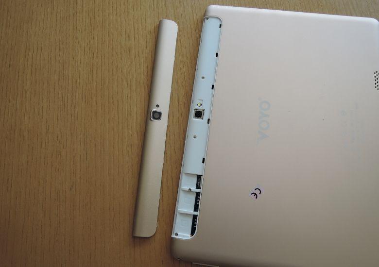 VOYO Q101 SIMカードスロット