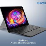 Chuwi SurBook - 12.3インチ、Chuwiの戦略的2 in 1、INDIEGOGOでの出資募集がもうすぐ終了!