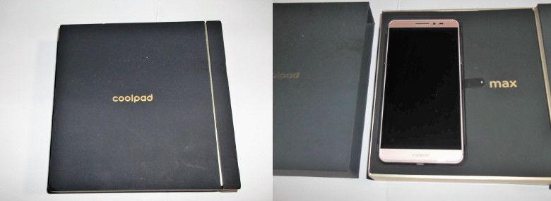 Coolpad Max A8 外箱