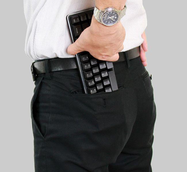 上海問屋 ポケットサイズメカニカルキーボード