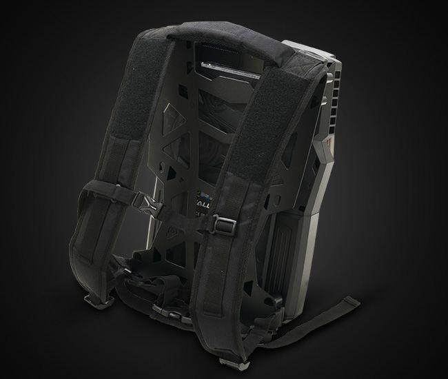 ドスパラ GALLERIA VR WEAR HG バックパック部