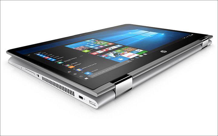 HP Pavilion x360 タブレットモード