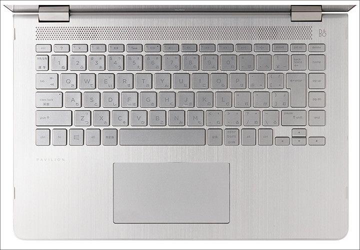 HP Pavilion x360 キーボード