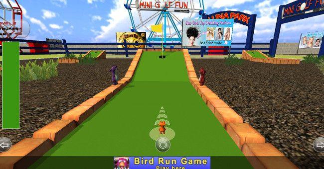Mini Golf Fun - Crazy Tom Shot 第2打以降