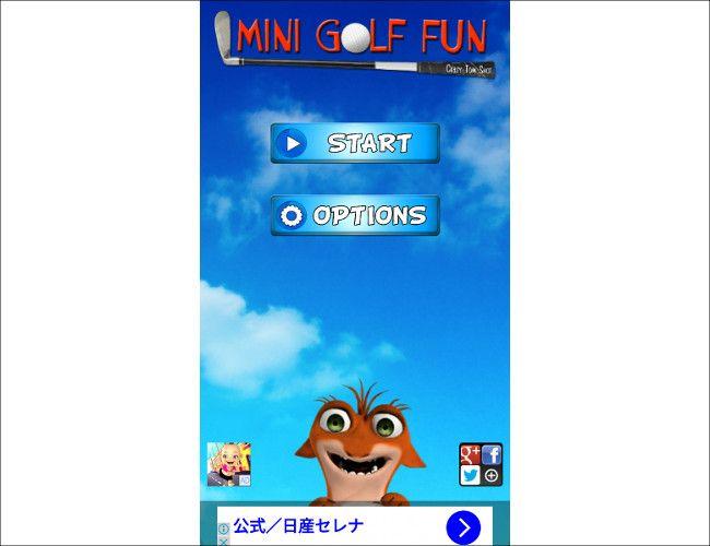 Mini Golf Fun - Crazy Tom Shot スマホ