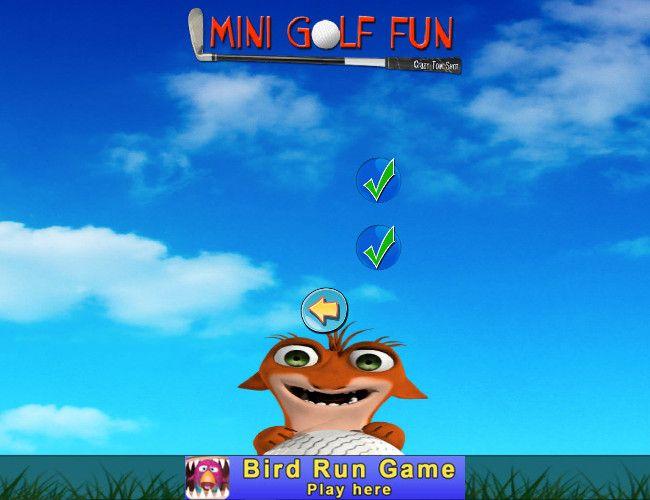 Mini Golf Fun - Crazy Tom Shot オプション