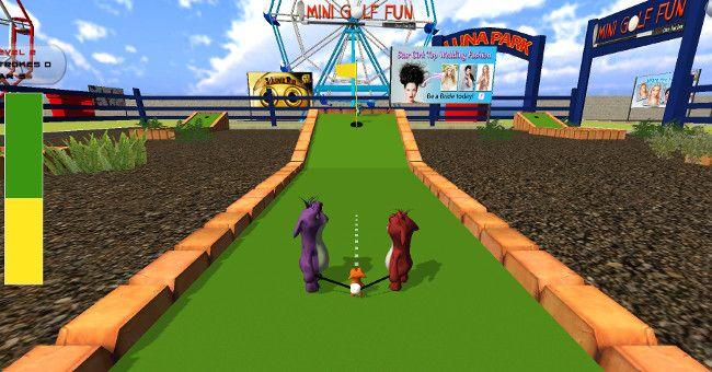 Mini Golf Fun - Crazy Tom Shot 第1打