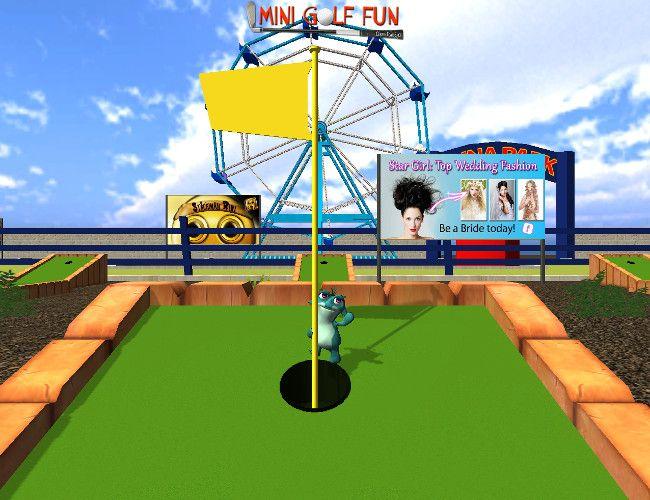 Mini Golf Fun - Crazy Tom Shot