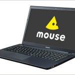 マウス m-Book P - 15.6インチ、デスクトップ用のCPUを搭載するハイスペックノートがマウスから!