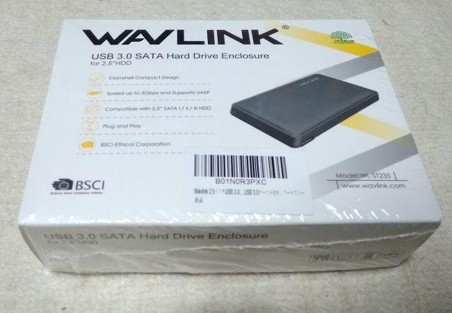 PCストレージの増設 WAVLINKのHDDケース