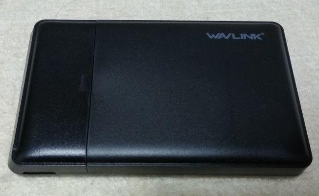 PCストレージの増設 WAVLINKのHDDケース 外観