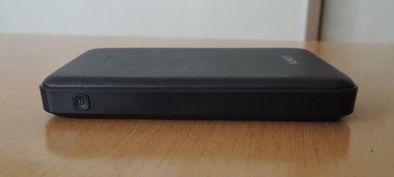 AUKEY モバイルバッテリー PB-N50 左側面