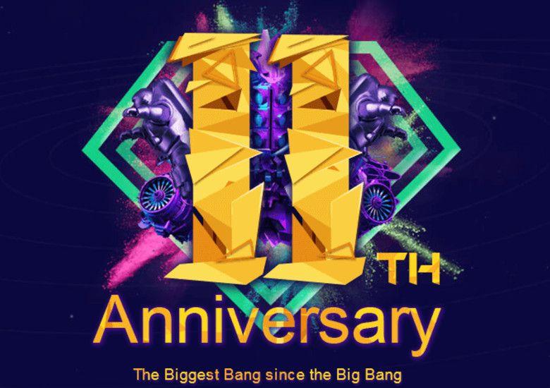 Banggood 11周年セール