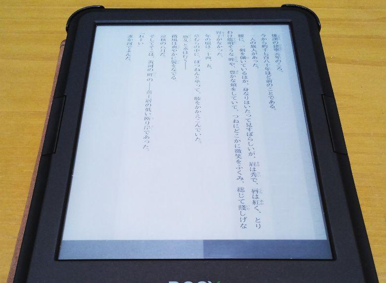 BOOX C67ML Carta2 レビュー2 Copper Reader