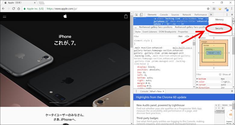 サイトの証明書 Chrome3