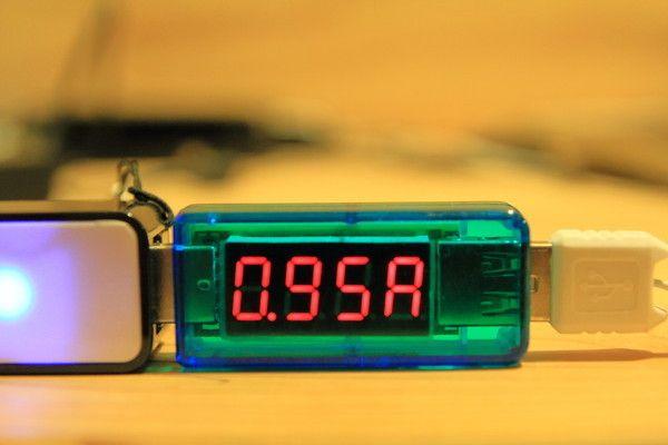 DAISO モバイルバッテリー(ふんぼ)出力テスト2