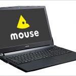 マウス m-Book K - 15.6インチm-bookシリーズの上級モデル、GeForce搭載でゲーミングPCなみに高性能!
