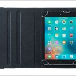 サンワサプライ タブレットPCマルチサイズケース PDA-TABPR8/10/11BK - 汎用タブレットケースがパワーアップ、もちろんスタンド機構つき