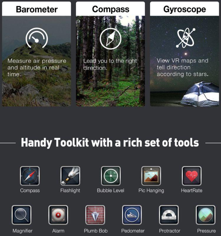 Ulefone Armor 2 プリインストールアプリ