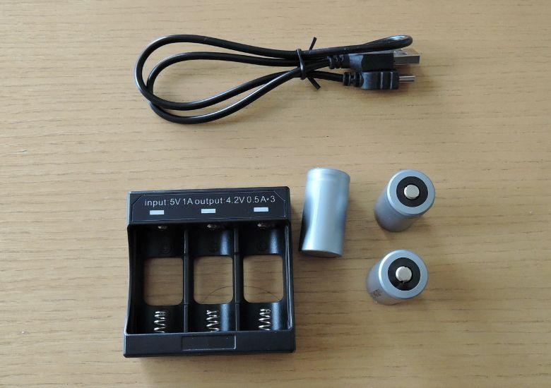 2軸軽量スタビライザー バッテリー