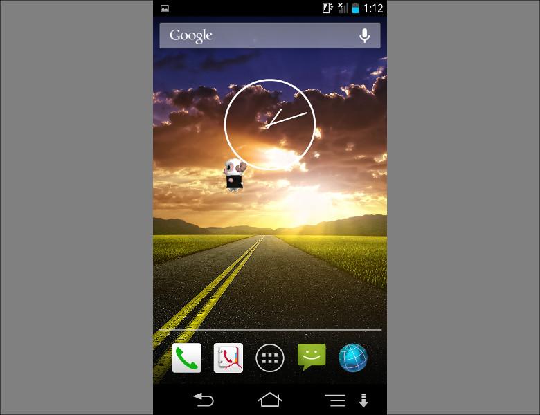 Android 4.0以降しばらく標準ランチャーだった「Holo」