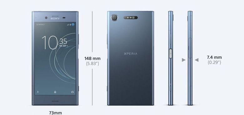 XPERIA XZ1 Design