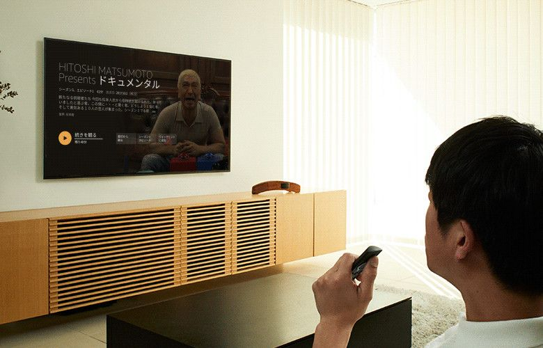 Amazon Fire TV 音声認識