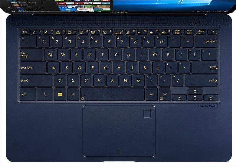 ASUS ZenBook3 Deluxe UX3490UAR キーボード