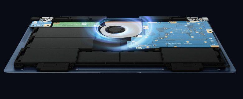ASUS ZenBook3 Deluxe UX3490UAR 冷却部分