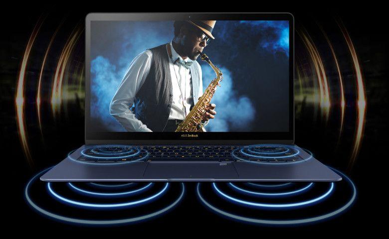 ASUS ZenBook3 Deluxe UX3490UAR サウンド