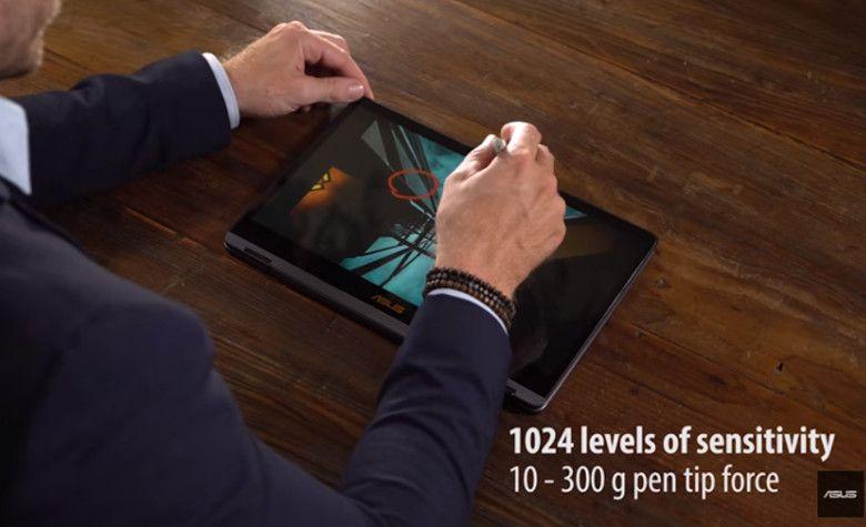 ASUS ZenBook Flip S UX370UA 筆圧対応のスタイラス