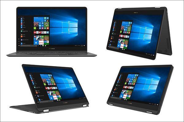 ASUS ZenBook Flip S UX370UA 4つのスタイル