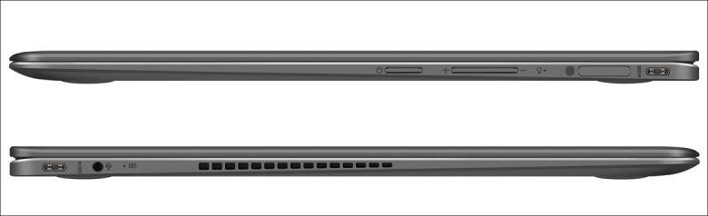 ASUS ZenBook Flip S UX370UA 側面