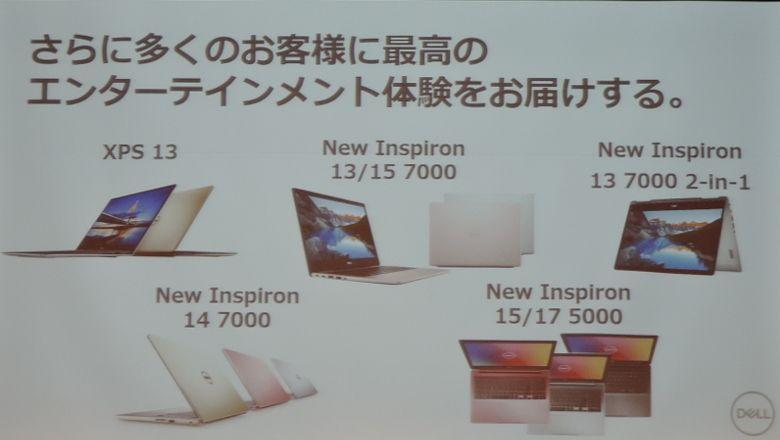 DELL 新製品発表会 新製品