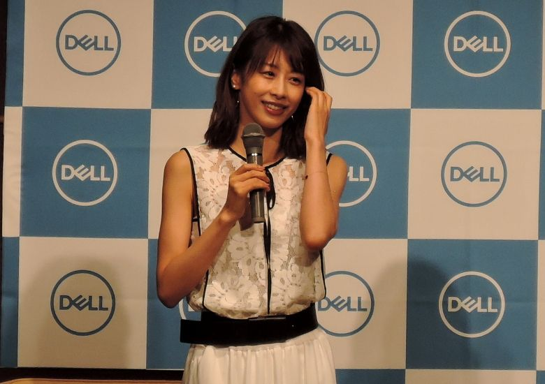 DELL 新製品発表会 加藤綾子さん