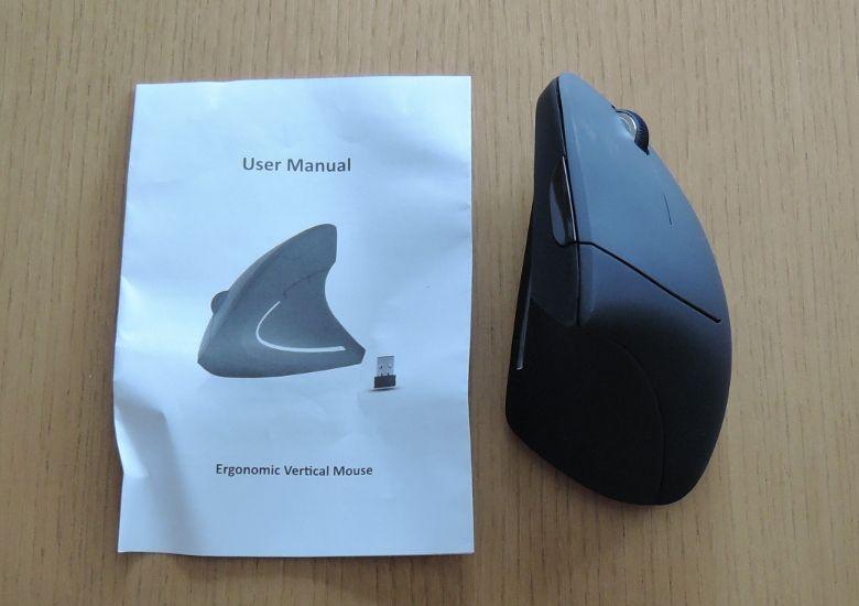上海問屋 スリム型 エルゴノミクスワイヤレスマウス レビュー