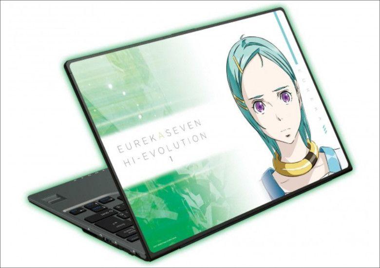 エウレカセブン ハイエボリューション1×富士通FMV コラボデザインPC
