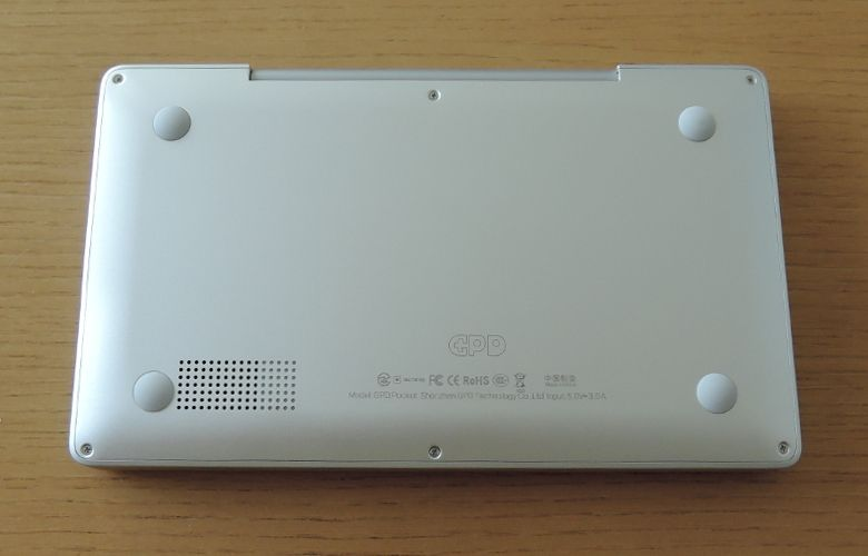 GPD Pocket 底面