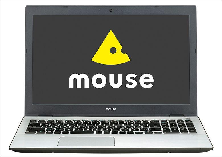 マウス m-Book H 筐体正面