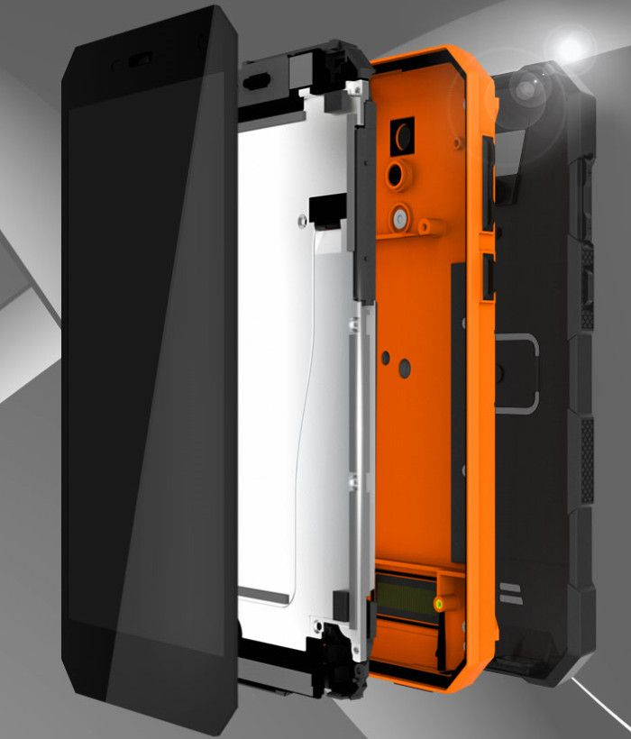NOMU S10 Pro 筐体構造