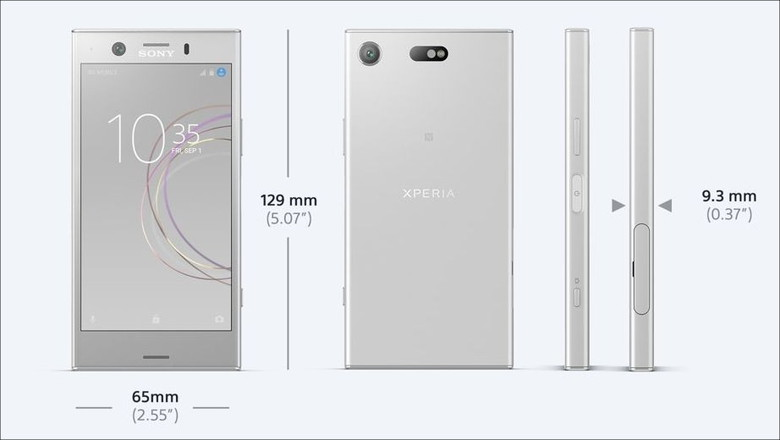 XPERIA XZ1 Compact デザイン