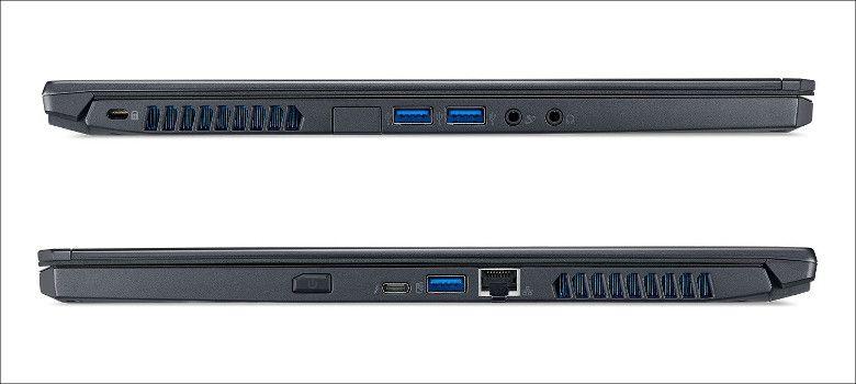 Acer Predator Triton700 側面