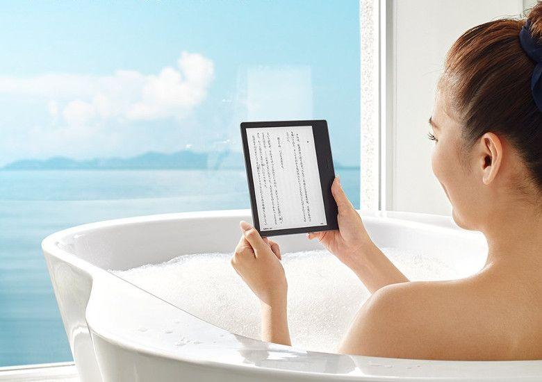 Amazon Kindle Oasis 防水仕様