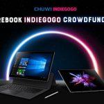CHUWI CoreBook - 「MateBookタイプ」のCore m搭載2 in 1がINDIEGOGOに!よく見ると個性的!