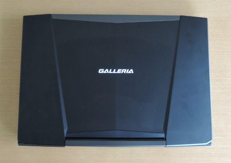 ドスパラ GALLERIA QSF960HE2 天板