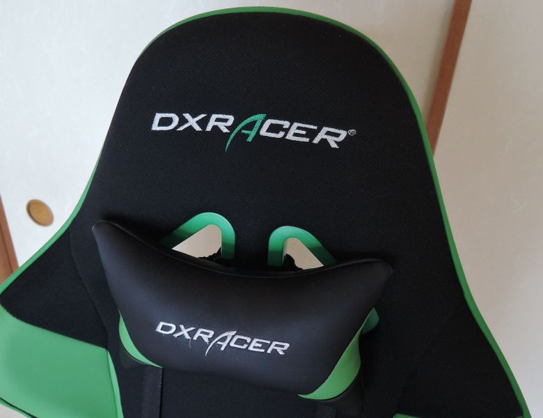 DXRACER RW-106GR ヘッドレスト