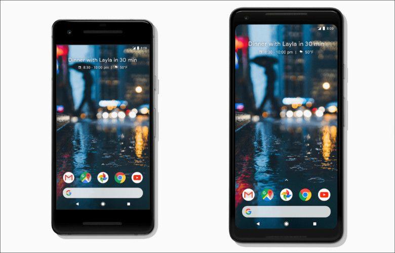 Google Pixel 2 / Pixel 2 XL 前面
