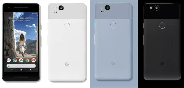 Google Pixel 2 カラバリ