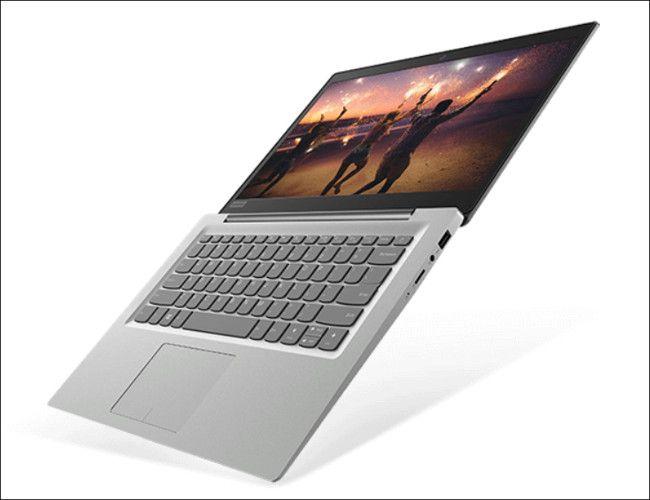 Lenovo ideapad 120S(14型)ヒンジ最大開口