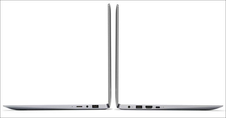 Lenovo ideapad 120S(14型)側面